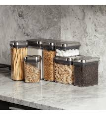 stainless steel canisters kitchen 274 best containers storage images on crates