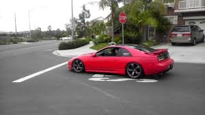 modified nissan 300zx slammed 300zx z32 youtube