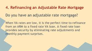 va arm loan are mortgage rates low enough to refinance your va home loan