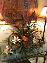 Faux Floral Centerpieces by Silk Floral Arrangement For Foyer Table Sofa Table Mantel