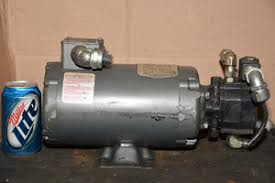 Haldex Barnes Gear Pump Baldor Barnes 1 1 2 Hp Single Phase 115v Hydraulic Pump Motor 12778