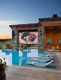 How To Make A Backyard Movie Theater Best 25 Outdoor Movie Screen Ideas On Pinterest Backyard Movie