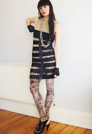 kingdom of style elastic cage dress