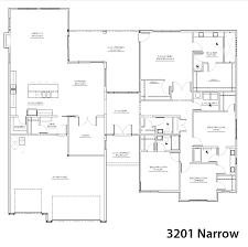 3201 narrow floorplan