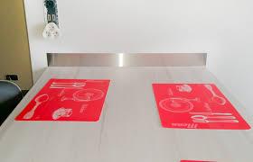 bandeau inox pour cuisine réalisation d une crédence basse en inox brossé steel mag