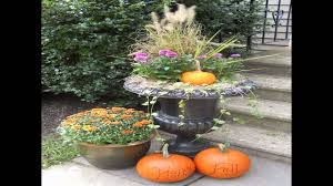 Outdoor Fall Decorations fall decorating ideas outside youtube