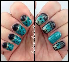 jacksonville jaguar nail art for beginners youtube