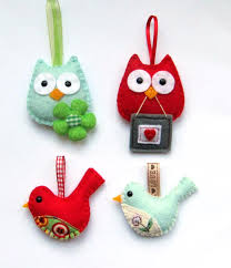 felt birds ideas for a great hanging people are so very clever