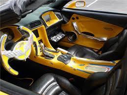 Custom Corvette Interior New Barrett Jackson Auction The Vette Barn A Community For