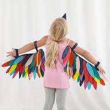 Halloween Costumes Parrots Wild Wings Dress Bird Streamers Halloween Costumes
