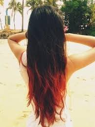 dye bottom hair tips still in style thinking about doing this when my hair eventually gets really