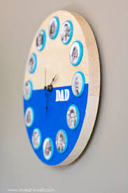 father u0027s day or mother u0027s day portrait clock