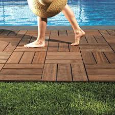 15 attractive wood deck flooring ideas and wooden outdoor tile