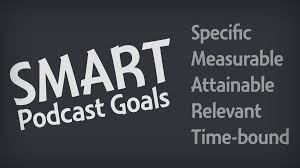 how to set and achieve smart goals for your podcast