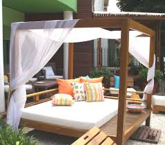 How To Make Swing Bed by Bed Bath Patio Design With Wood Daybed And Mattress Also Pics On