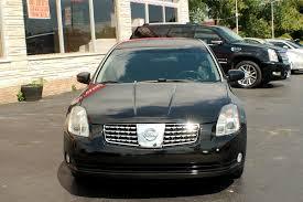 maxima nissan 2005 2005 nissan maxima se black sedan sale