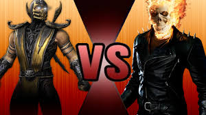 ghost rider vs scorpion death battle fanon wiki fandom