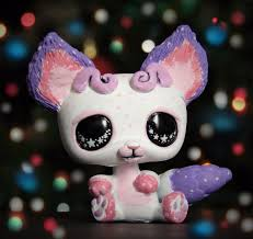 halloween lps littlest pet shop space galactic bear ooak custom figure lps chibi