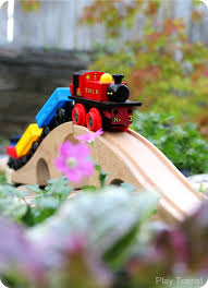 diy outdoor train table a wooden train garden railway play trains