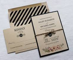 modern wedding invitations modern wedding invitation rustic wedding invitation vintage