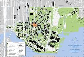 Washington State University Campus Map by Uw Page