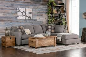 zella charcoal 2 piece sectional w raf chaise living spaces
