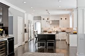 L Shaped Kitchen Rug White Glass Kitchen Backsplash Black Granite Countertops Neutral