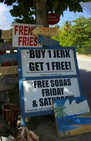 Grand Cayman Islands Map Jerk Stand Near Bodden Town Grand Cayman I Love This Sign Every