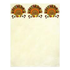 thanksgiving letterhead zazzle