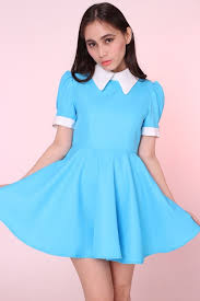 light blue dress dress blue dress collared dress light blue collar blue and