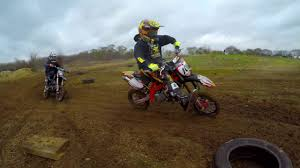 bike motocross rednecks mini mx klx110 bucci mini bike motocross youtube