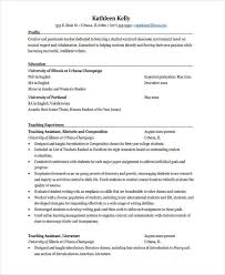 resume format for fresher english teachers fresher lecturer resume templates 5 free word pdf format