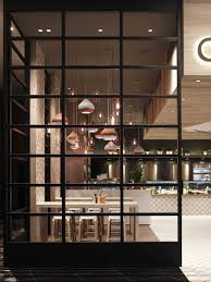 awesome wall partition decorating in black stained wood material
