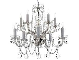 Light Crystal Chandelier Gorgeous Living Room Chandelier Ideas Designing Idea