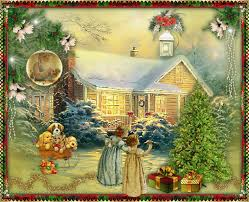 570 best christmas images on pinterest gifs vintage christmas