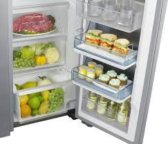 Samsung Counter Depth Refrigerator Side By Side by Samsung Rh22h9010sr 36 Inch Counter Depth Side By Side