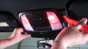 Lill Overhead Doors by 2015 2016 Dodge Charger The Easy Way To Replace The Map Lights
