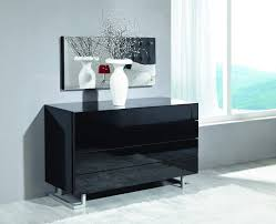 Black Lacquer Bedroom Furniture Elise Dresser In White Or Black Luxury Lacquer On Stylish Legs