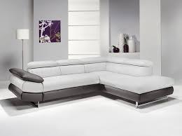 canapé d angle blanc et gris canap d angle gris blanc canap d angle relax canap d angle