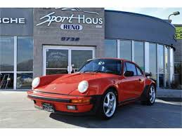 porsche turbo classic 1985 porsche 911 turbo look for sale classiccars com cc 932376