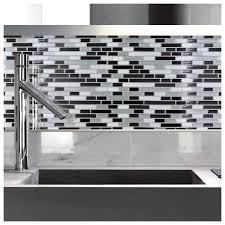 peel and stick sand mosaic decorative wall tile in fixer upper