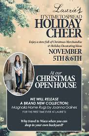 Christmas Open House Ideas by Save The Date Christmas Open House November 5th U0026 6th
