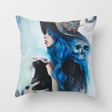 halloween throw pillows society6