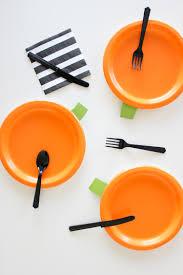 diy halloween paper plates free templates