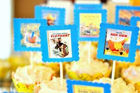 storybook themed baby shower golden books baby shower popsugar