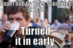 Lazy College Student Meme - lazy college senior memes quickmeme