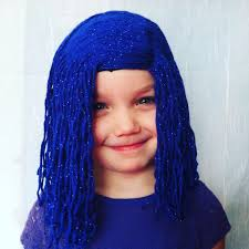 halloween city wigs girls wigs costume party halloween costume kids wigs