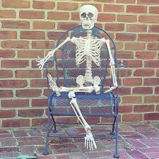 3 5ft halloween poseable jointed life size human skeleton