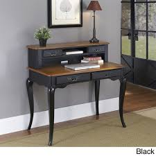 Black Student Desk With Hutch The Countryside Student Desk And Hutch By Home Styles