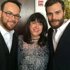 E L James Jamie Dornan Life New Old Picture Of Jamie El James And Producer